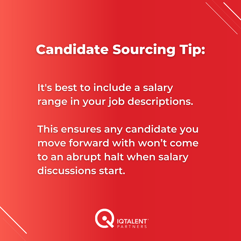 IQTP - Candidate Sourcing Tip